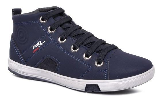 Tênis/bota Infantil Pegada 370407-06 Azul Marinho