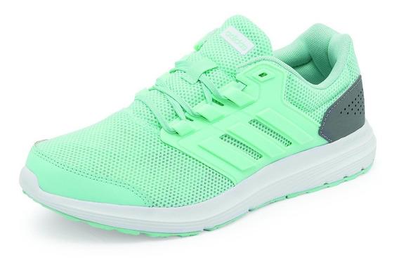 Tenis adidas Mod. B43836, Deportivos, Color Menta/gris.