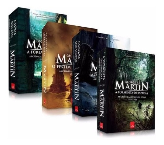 Box Livros Game Of Thrones - Digital + Brinde - Promoção !!!