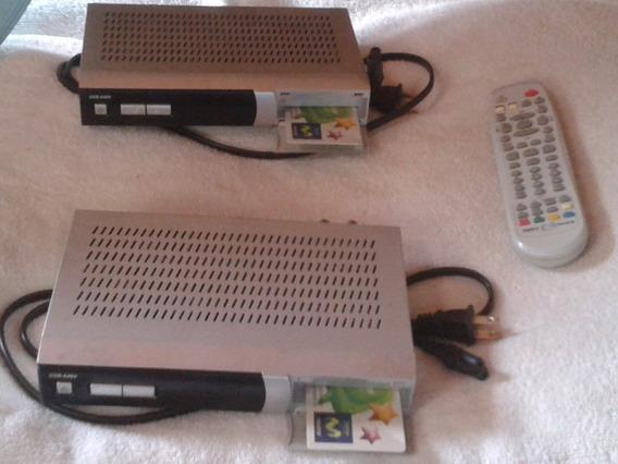 2 Codificadores, 1 Antena, 1 Control Rem. Movistardsb-646v