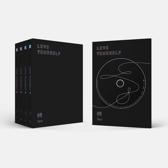 Bts Kpop Álbum Love Yourself Tear Your Original - Com Poster