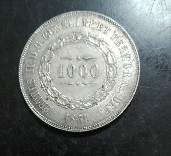 Moneda Rep Peruana 1 Sol, Plata Año 1870,