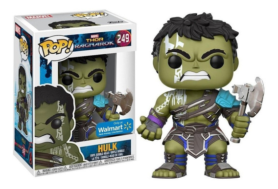 Funko Pop Thor Ragnarok Hulk Ex
