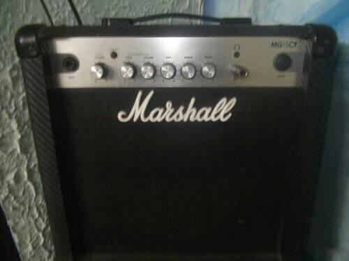 Amplificador De Guitarra Marshall Mg15cf