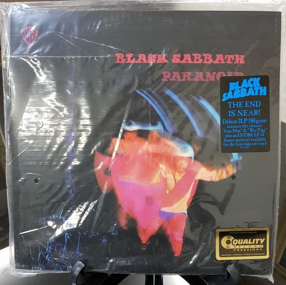 Lp Black Sabbath Paranoid Duplo Luxo Eua Frete Grátis 12xsj