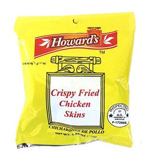 Crispy Fried Chicken Pieles De Howard - Chicharrones De Poll