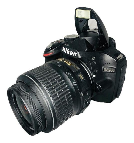 Câmera Nikon D3200+lente 18-55mm Usado Ótimo Estado Dslr