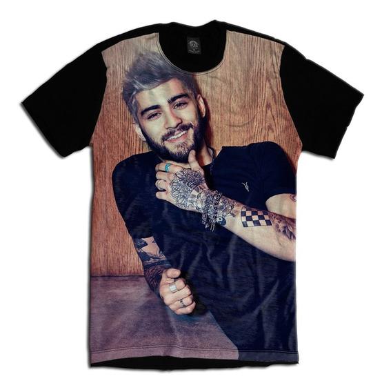 Camiseta Personalizada Swag Face Rosto Zayn Malik