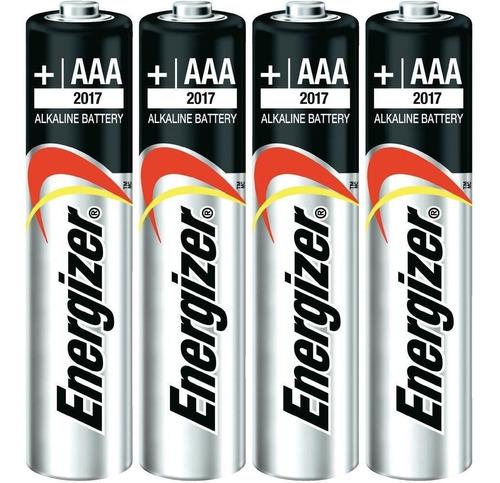 Pilas Aaa Energizer Alcalinas 4 Unidades