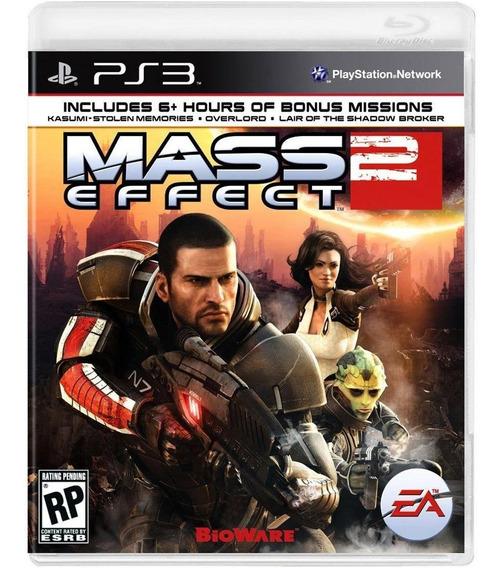 Mass Effect 2 Ps3 Jogo Novo Original Lacrado Mídia Física