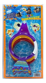 Aros Sumergibles X 3 Unidades Pileta Buceo Titanweb