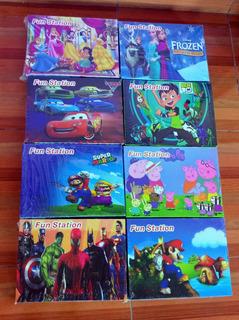 Lote De 10 Consolas Fun Station Juegos Controles Mayoreo