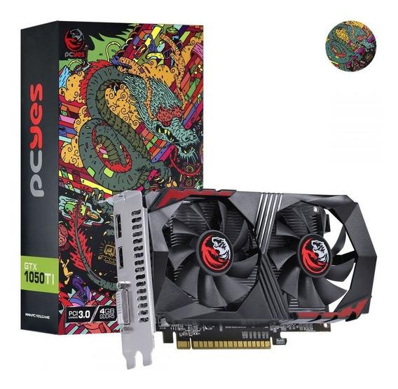 Placa De Vídeo Nvidia Geforce Gtx 1050 Ti 4gb Gddr5 Pcyes