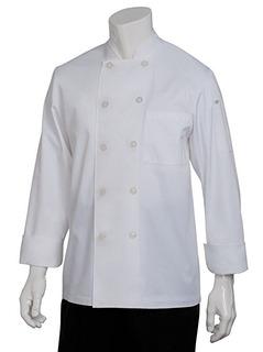 Escudo Chef Trabaja Para Hombre Le Mans Chef, Blanco, Medio