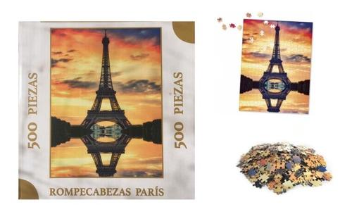 Rompecabezas Paris 500 Piezas