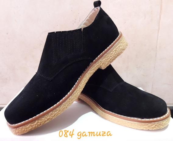Zapato Doble Elastico Lateral Talle Grande - Art 084