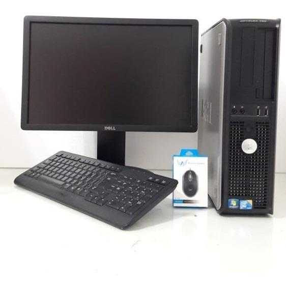 Computador Dell Core 2 Duo E7500 4gb 250gb Tela 19