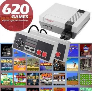 Consola Retro Nessson Mas De 620 Juegos Retro Incorporados