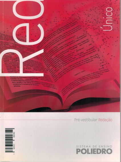 Livro Sistema De Ensino Poliedro: Pré-vestibular Redação