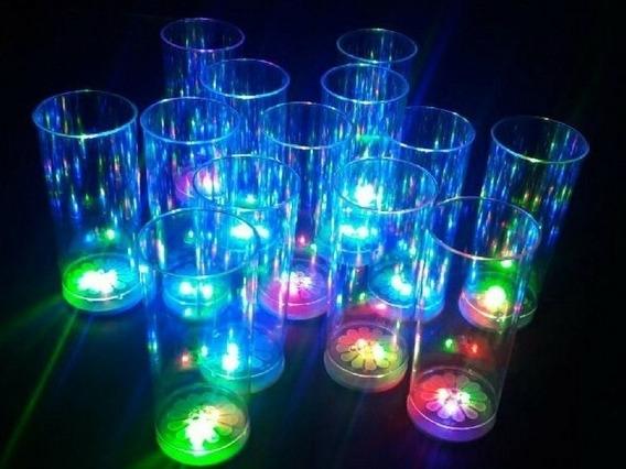 Vasos Luminosos X30 Unidades- Cotillon Led- El Mejor Precio!