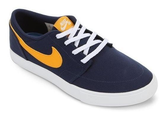 Tênis Nike Sb Portmore Solar Masculino - Azul Marinho