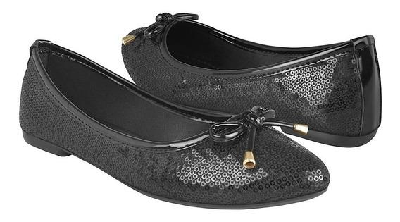 Zapatos Casuales De Dama Capa De Ozono 406016-1 Negro