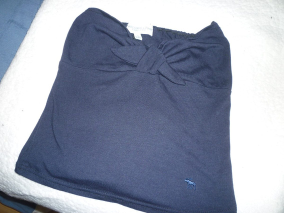 Top Abercrombie & Fitch Negro