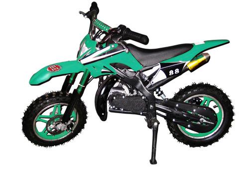 Mini Moto 49cc 2 Tempos Bz Arena Cross Barzi Motors