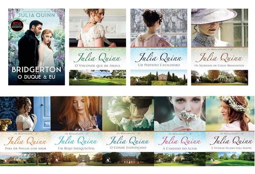 Os Bridgertons Coleção Completa 9 Livros- Duque E Eu Netflix