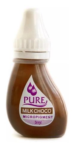 Tinta Milk Choco Pure Micropigmentación Biotouch Para Cejas
