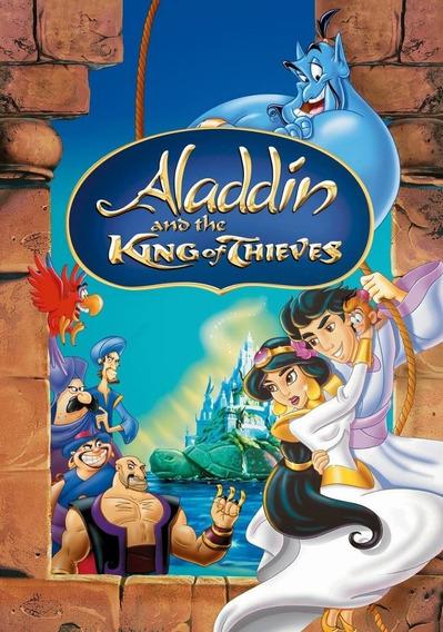 Aladdin E Os 40 Ladrões Dublado Frete Grátis