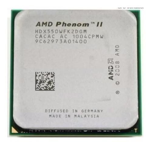 10 Processadores 550 Phenom Ii X2 Socket Am+ Am3 - Garantia