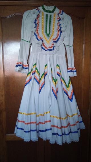Vestido Regional Para Niña