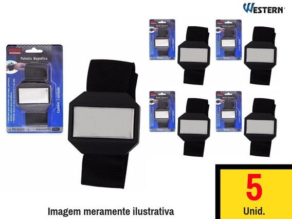5 Bracelete Magnético Para Parafusos Pregos Western Ps5004