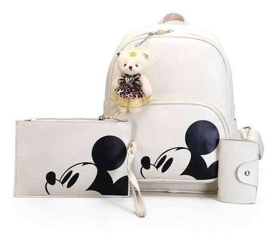Kit Mickey Mouse 3 Peças + Brinde