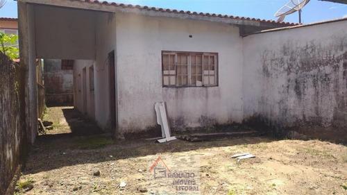 Imagem 1 de 15 de Casa Para Venda Em Mongaguá, Balneário Flórida Mirim, 2 Dormitórios, 1 Banheiro, 2 Vagas - 504_1-1146233