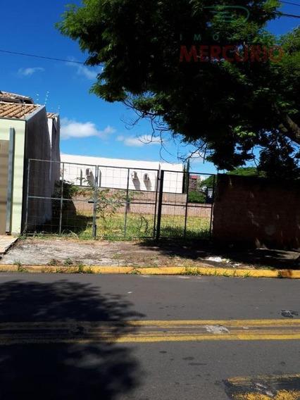 Terreno Residencial Para Locação, Jardim Estoril, Bauru. - Te0875