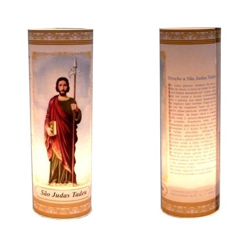 3 Velas Votivas 7 Dias Imagem Mágica São Judas Tadeu Oração