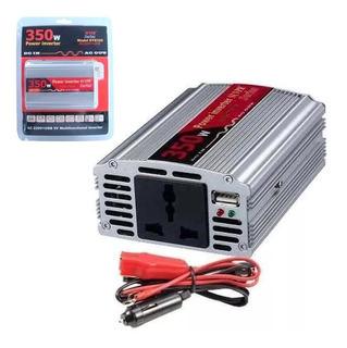 Conversor Adaptador 12v A 220v Inversor Dy8105 Usb 350w