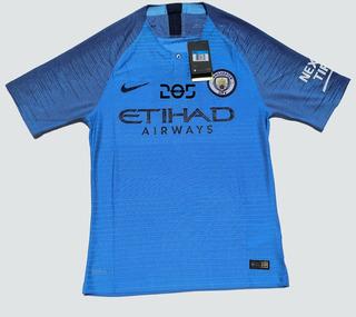 Camiseta Manchester City 18/19 Jogador/player Lisa