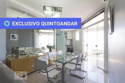 Apartamento No 14º Andar Mobiliado Com 1 Dormitório E 1 Garagem - Id: 892932841 - 232841