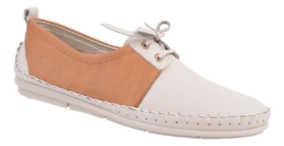 Zapatos Abotinados Mocasines Mujer Cuero Vacuno Hot Rimini