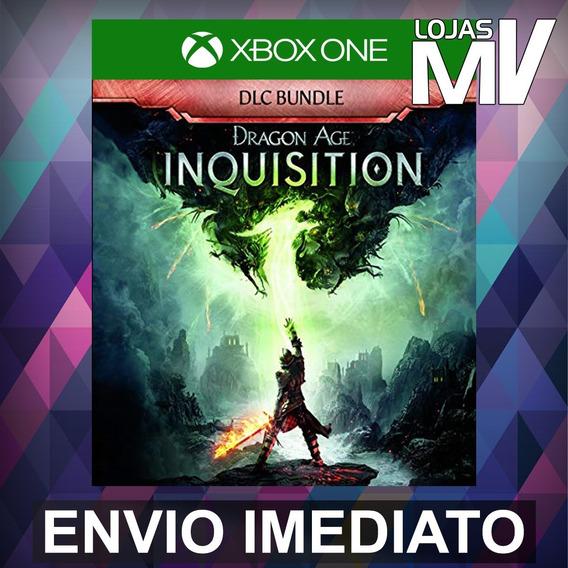 Dragon Age: Inquisition Dlc Xbox One Código 25 Dígitos