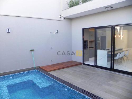 Casa Com 3 Dormitórios À Venda, 180 M² Por R$ 1.060.000,00 - Parque Residencial Nardini - Americana/sp - Ca0414