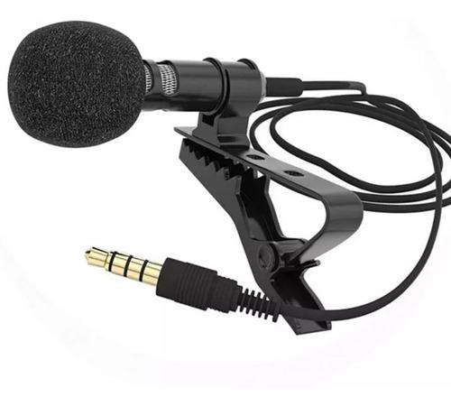Imagen 1 de 8 de Microfono Solapa Cavalier Clip 3.5mm