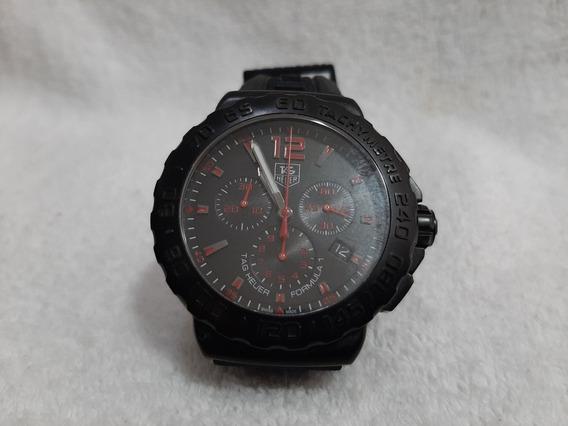 Tag F1 Black,modelo Novo,chrono,caixa 42mm,excelente Estado