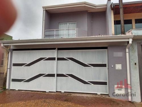 Imagem 1 de 20 de Casa Com 2 Dormitórios À Venda, 220 M² Por R$ 530.000,00 - Campo Limpo - Americana/sp - Ca2635