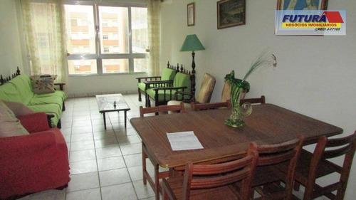 Apartamento Com 2 Dormitórios À Venda, 83 M² Por R$ 250.000,00 - Itararé - São Vicente/sp - Ap2065