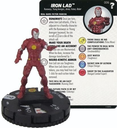 Heroclix - Iron Lad #006 15th Anniversary What If?