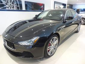 Maserati Ghibli Sq4, Negro, 410cv; 0-100km: 4.8secs